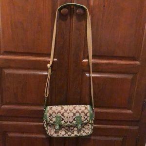 Coach Bags - Coach signature crossbody purse/bag